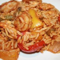 Resep Makanan Bahasa Inggris – Dinner Recipe: Chicken and Shrimp Jambalaya