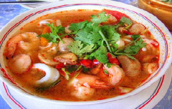 Resep Tom Yum Seafood